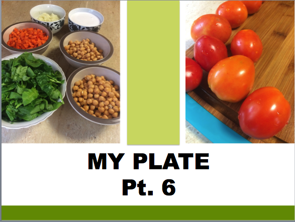 NHTLH, My Plate, Food Combinations,